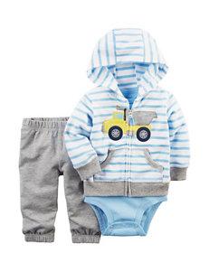 Carter's 3-pc. Hoodie & Pants Set- Baby 3-18 Mos.