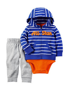 Carter's 3-pc. All-Star Hoodie Set - Baby 3-18 Mos.