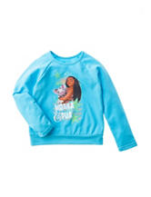 Moana & Pua Fleece Top - Girls 4-6x