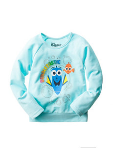Finding Dory Fleece Top - Girls 4-6x