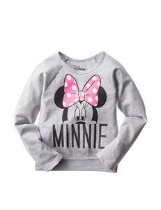 Minnie Mouse Fleece Top - Girls 4-6x