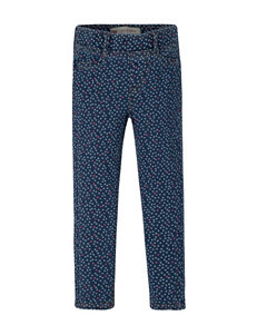 Levi's® Dark Wash Dot Print Skinny Jeans - Toddler Girls