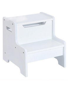 Guidecraft Expressions Step Stool - White