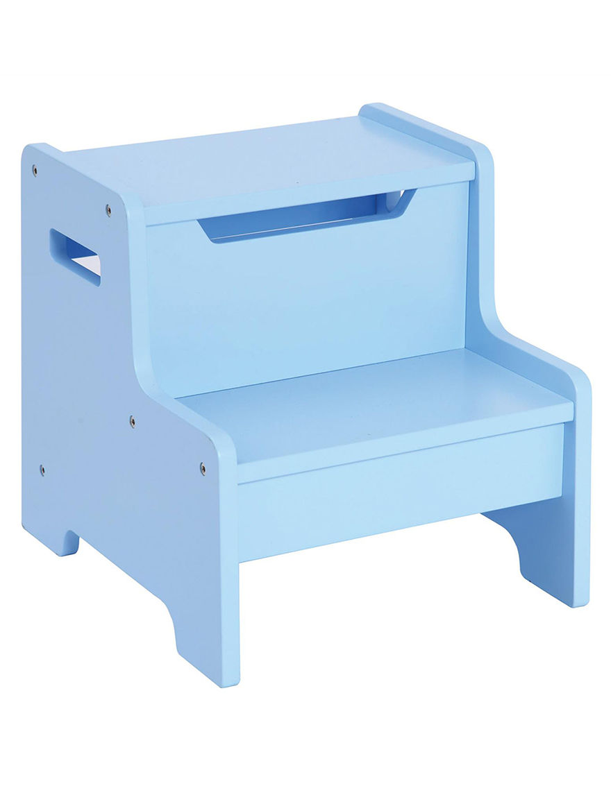 Guidecraft Expressions Step Stool Light Blue Stage Stores