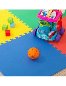 Stalwart 4-pk. Multicolor Eva Foam Floor Mats