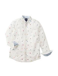 Nautica Signal Flag Woven Shirt - Boys 8-20