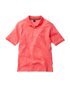 Nautica Coral Polo Shirt - Boys 8-20