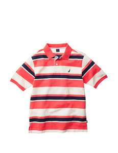 Nautica Striped Polo Shirt - Boys 8-20