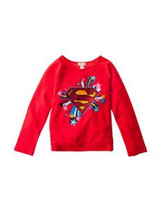 DC Comic Superwoman Fleece Top - Girls 7-16