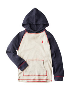 U.S. Polo Assn. Thermal Hoodie - Boys 8-20