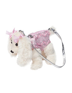 Poochie & Co. Glitter Detailed Lizzy Dog Bag