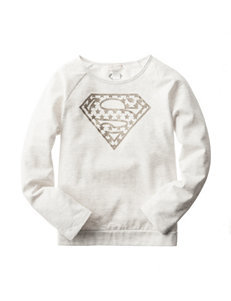 Glitter Shield Fleece Top - Girls 7-16