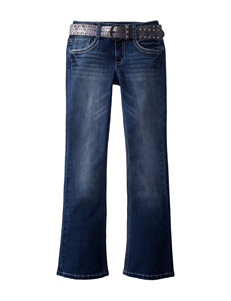 Vanilla Star Studded Bootcut Jean - Girls 7-16