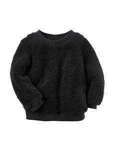 Carter's® Black Sherpa Tunic - Girls 4-8