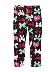 Carter's® Bow Print Leggings - Toddler Girls
