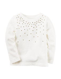 Carter's® Rhinestone Top - Toddler Girls