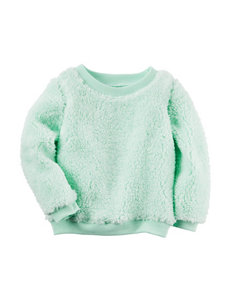 Carters® Mint Sherpa Tunic - Toddler Girls