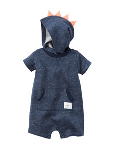 Carter's Monster Hooded Romper - Baby 3-18 Mos.