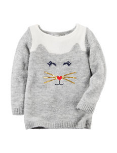 Carters® Kitty Sweater - Toddler Girls