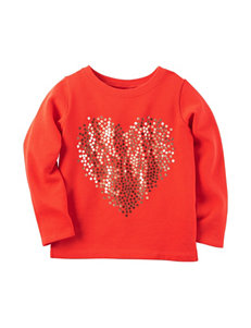 Carter's® Sequins Heart Top - Toddler Girls