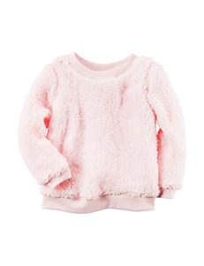 Carters® Pink Sherpa Tunic - Toddler Girls