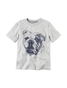 Carter's® Bulldog Print T-shirt - Toddler Boys