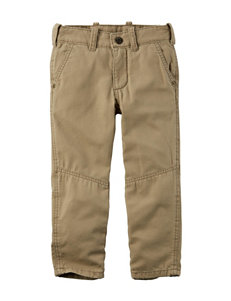 Carter's® Khaki Canvas Pants - Toddler Boys