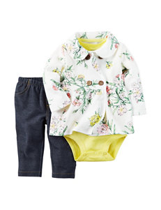 Carter's 3-pc. Floral Print Jacket Set - Baby 3-18 Mos.