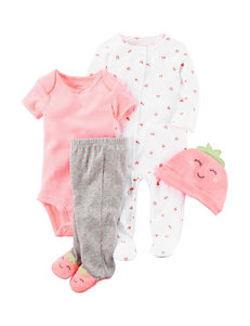 Carter's 4-pc. Strawberry Layette Set - Baby 0-9 Mos.