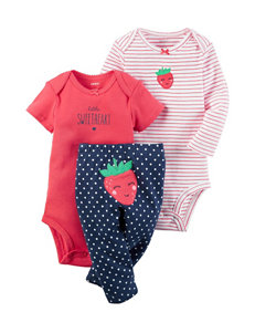 Carter's 3-pc. Strawberry Turn Me Set - Baby 0-12 Mos.