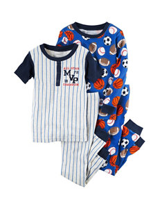 Carter's 4-pc. Allstar Shirt & Pants Set - Boys 12-24 Mos.