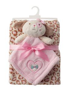 Baby Gear 2-pc. Dog Buddy & Leopard Print Blanket Set