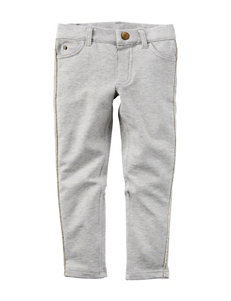 Carter's® Grey French Terry Pants - Girls 4-8