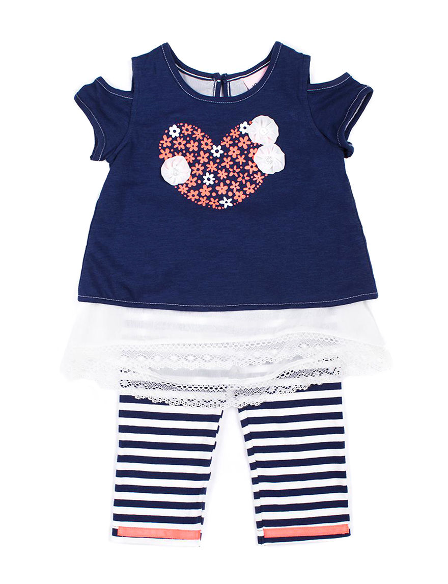 Little Lass Navy / Ivory