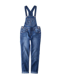 Squeeze Dark Wash Overalls - Girls 7-16
