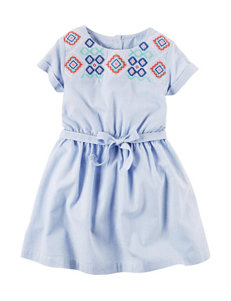 Carter's Aztec & Striped Print Dress - Girls 4-8