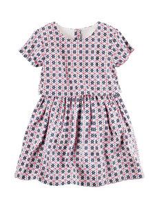 Carter's Floral Print Popover Dress - Girls 4-8