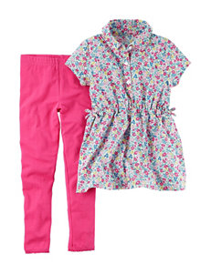 Carter's 2-pc. Floral Print Top & Leggings Set - Girls 4-8