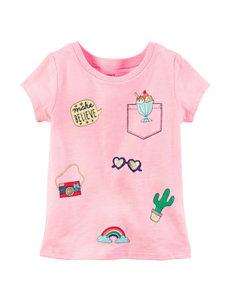Carter's Pink Charm Top - Girls 4-8