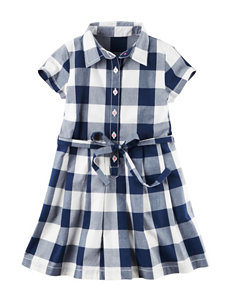 Carter's Buffalo Checkered Print Dress - Girls 4-8