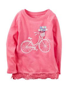 Carter's Take a Ride Top - Toddler Girls