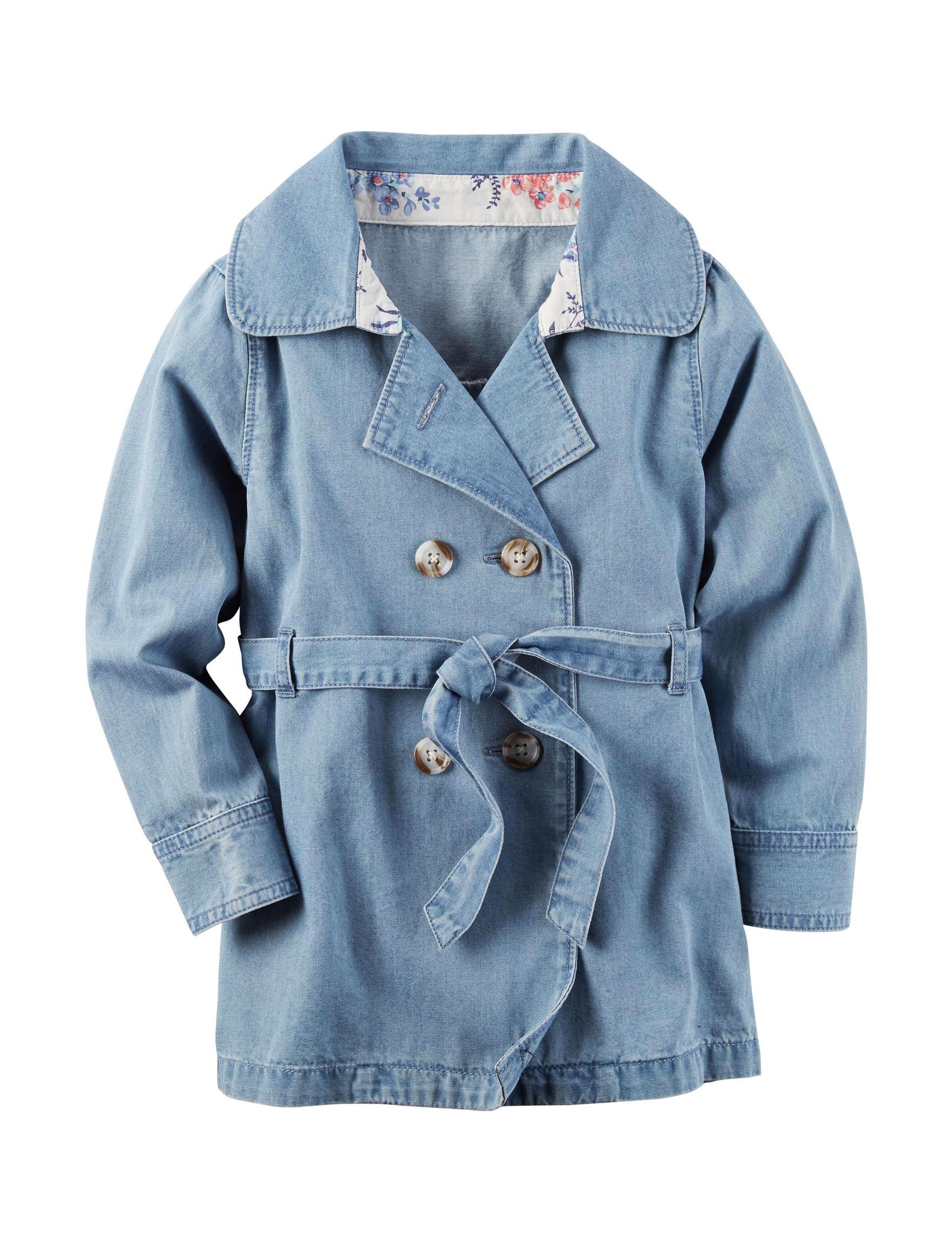 Carter's Denim Fleece & Soft Shell Jackets