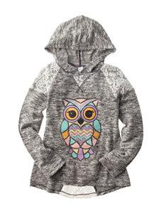 Miss Chievous Owl Print Hoodie - Girls 7-16