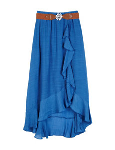 Amy Byer Hi-Lo Ruffle Skirt - Girls 7-16