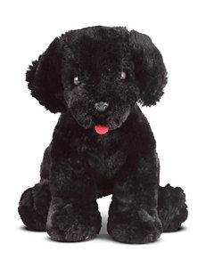 Melissa & Doug Benson Black Lab Stuffed Animal