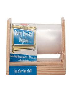 Melissa & Doug Tabletop Paper Roll Dispenser