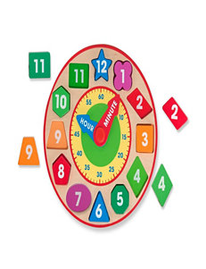 Melissa & Dough Shape Sorting Clock