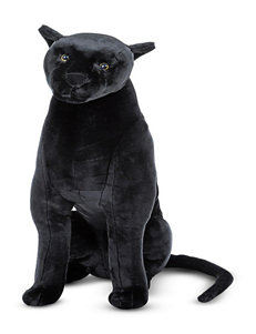 Melissa & Doug Panther Plush Toy