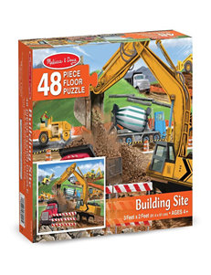 Melissa & Doug 48-pc. Building Site Floor Puzzle