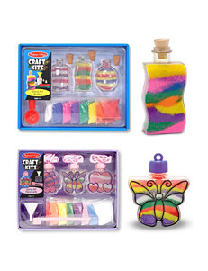 Melissa & Doug Sand Art Bundle - Bottles & Pendants